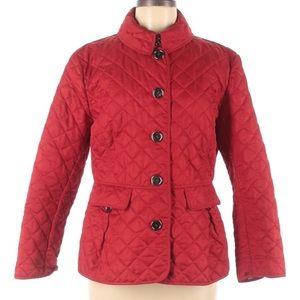 EUC Burberry Brit Quilted Coat